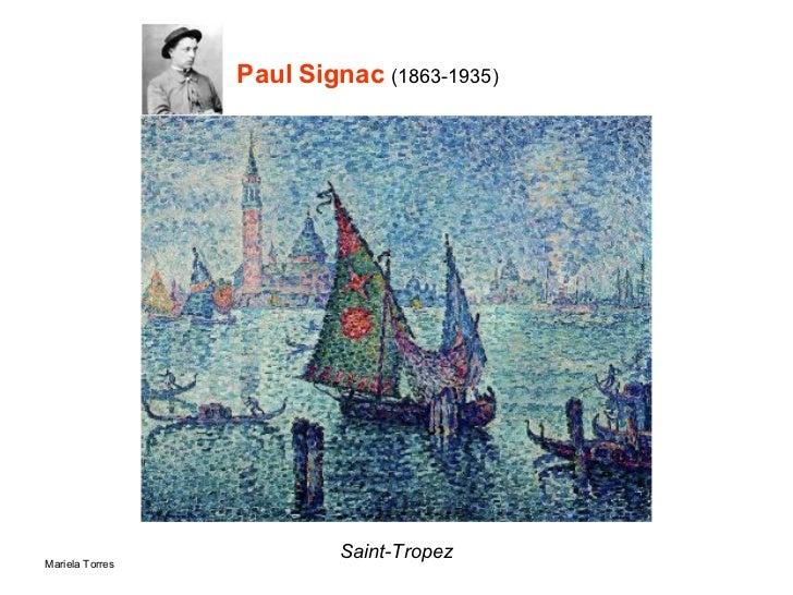 Paul Signac  (1863-1935) Saint-Tropez