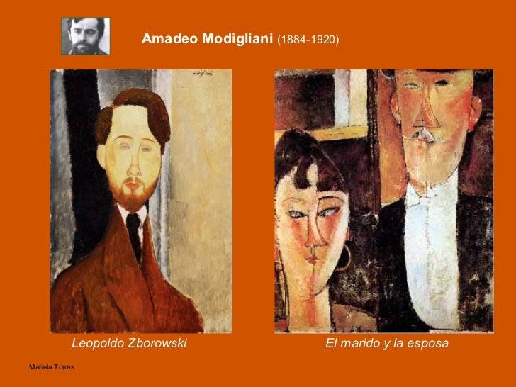 <ul><li>Leopoldo Zborowski </li></ul>Amadeo Modigliani  (1884-1920) El marido y la esposa