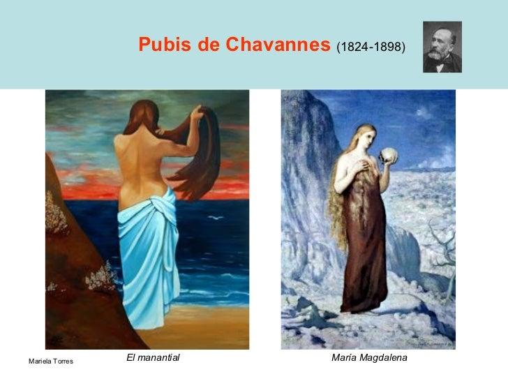 Pubis de Chavannes  (1824-1898) María Magdalena El manantial