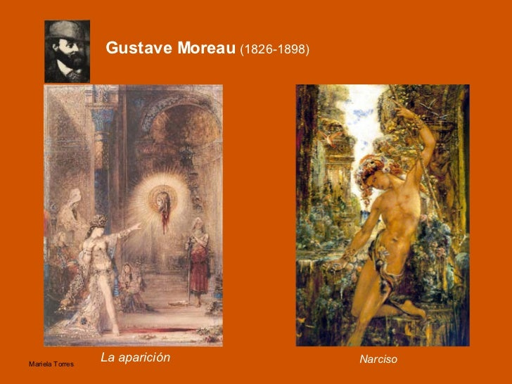 Gustave Moreau  (1826-1898) <ul><li>La aparición </li></ul>Narciso