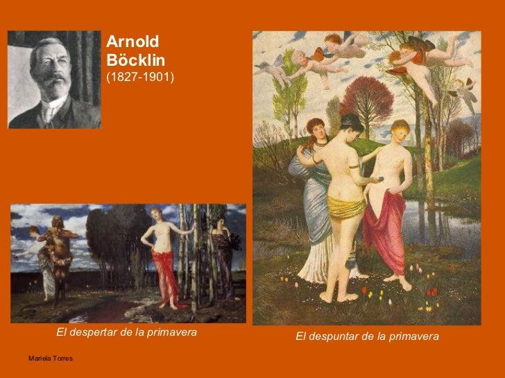 Arnold Böcklin  (1827-1901) El despuntar de la primavera El despertar de la primavera