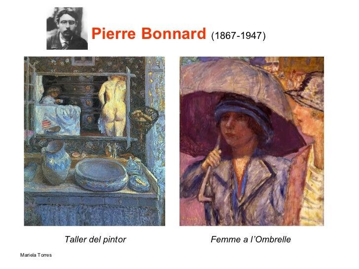 Pierre Bonnard  (1867-1947) <ul><li>Taller del pintor </li></ul>Femme a l'Ombrelle