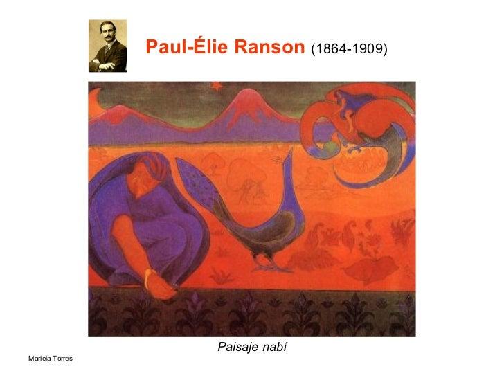 Paul-Élie  Ranson  (1864-1909) Paisaje nabí