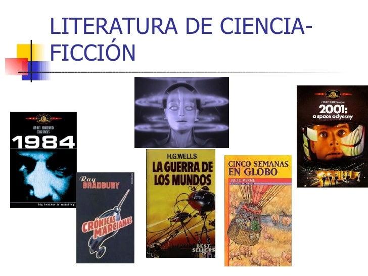 LITERATURA DE CIENCIA-FICCIÓN