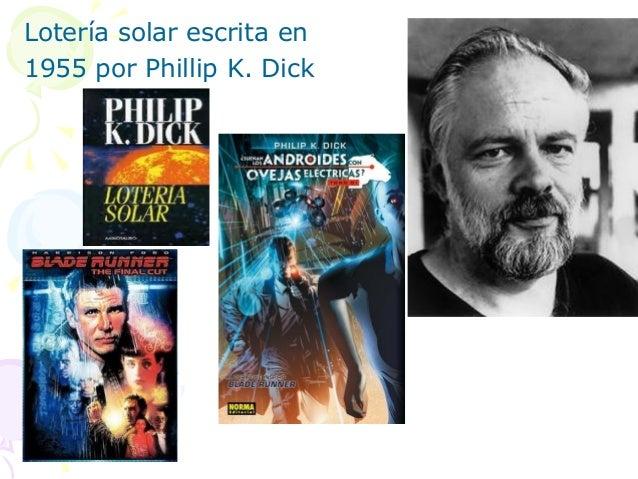 Lotería solar escrita en1955 por Phillip K. Dick