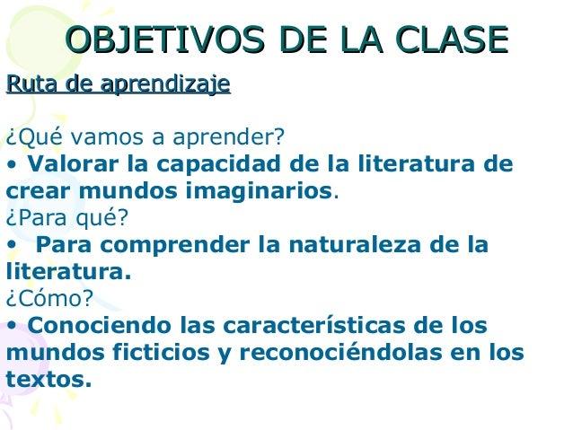 OBJETIVOS DE LA CLASEOBJETIVOS DE LA CLASERuta de aprendizajeRuta de aprendizaje¿Qué vamos a aprender?• Valorar la capacid...