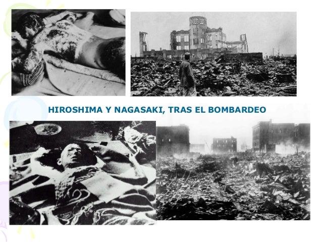 HIROSHIMA Y NAGASAKI, TRAS EL BOMBARDEO