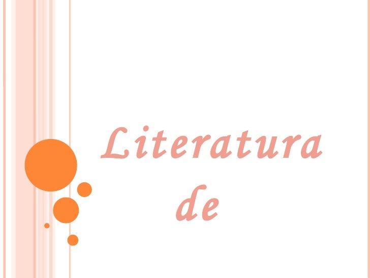 Literatura  de  entreguerras