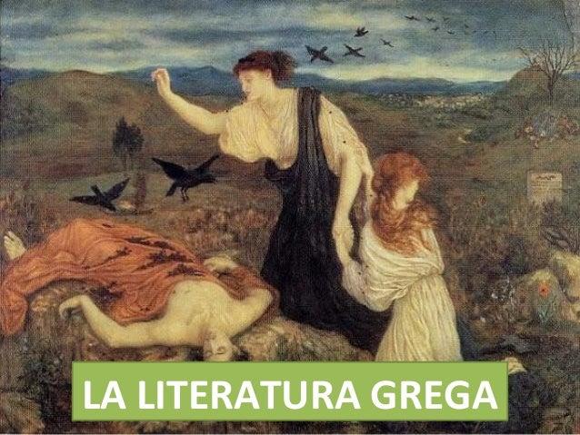 LA LITERATURA GREGA