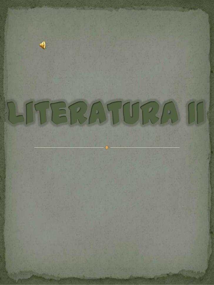 Literatura II<br />