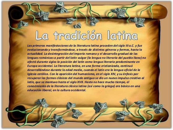 epocas de la literatura latina - photo#12