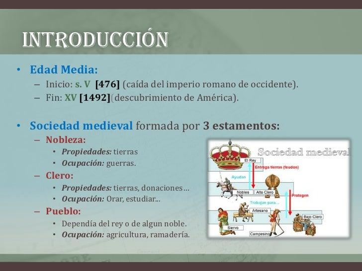 Literatura medieval (3º eso) Slide 3