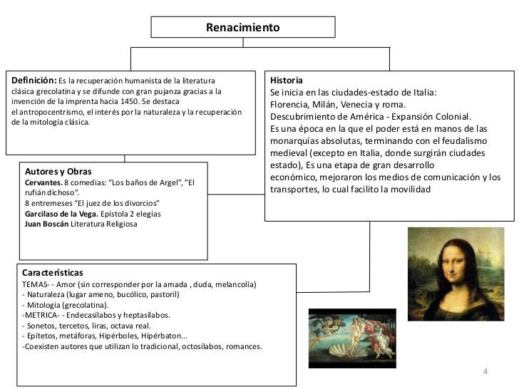 RenacimientoDefinición: Es la recuperación humanista de la literatura                   Historiaclásica grecolatina y se d...