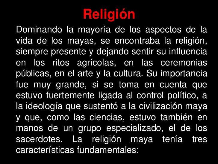 •Religión politeísta: Se adoraba a varios dioses a la vez. •Religión de Aspectos Naturalistas: Los dioses eran los element...