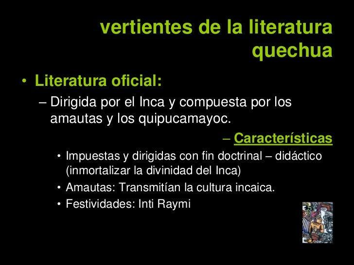 """• Literatura popular:   – Dirigida por """"los poetas del pueblo"""" o     creadores"""" (Haravicus o Haravecs)   – Expresión colec..."""