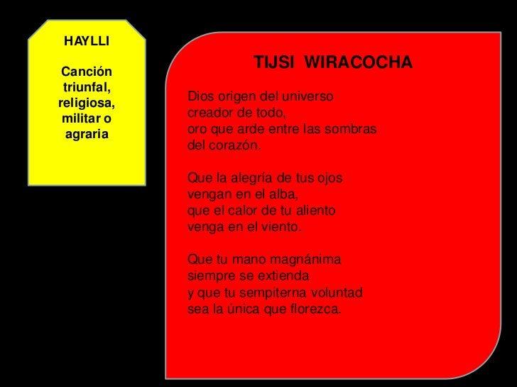HUACCAN  TAQUI                   PASTORIL  Canto pastoral   Una llama quisiera (égloga)   que de oro tuviera el pelo,     ...