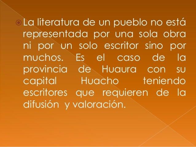 Literatura regional Slide 2
