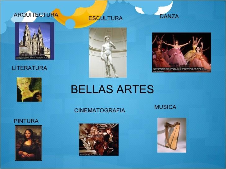Literatura y bellas artes for Arquitectura 7 bellas artes
