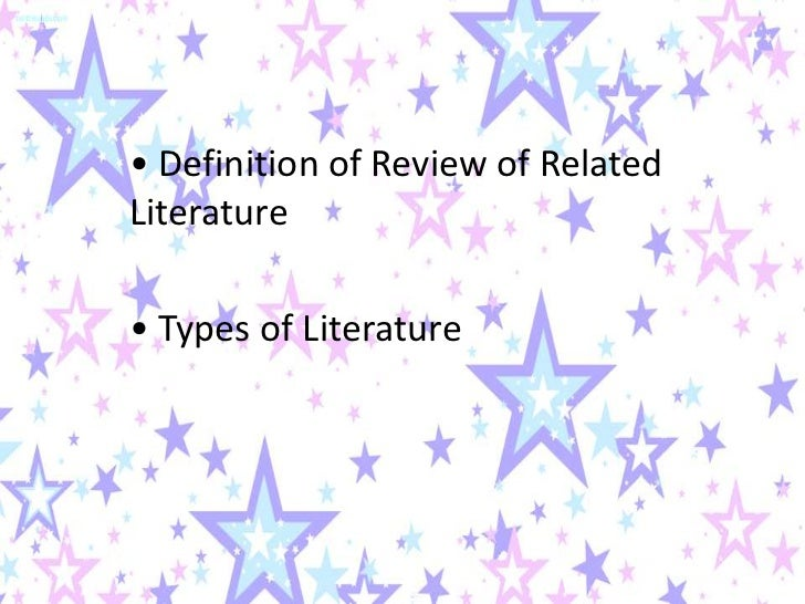 define related literature A - abbey theatre to avant-garde - the most comprehensive english literature dictionary on the internet specifically targeted at students.