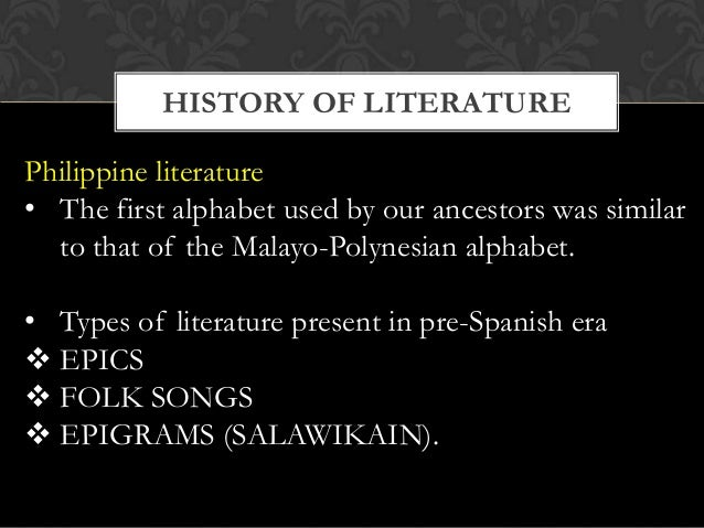 poetry and philippine literature Philippine literature is literature associated with the philippine from prehistory, through its colonial legacies, and on to the present both in poetry.