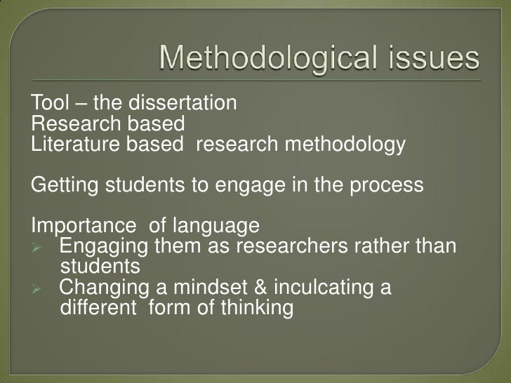 dissertation methodology literature based Writing up your phd (qualitative research)  2 the literature review 14-28  3 the methodology chapter 29-37.