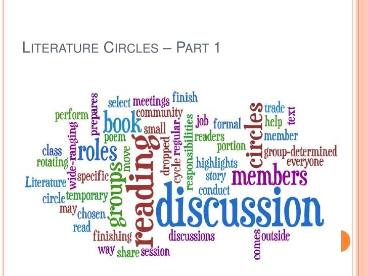 Literature Circles – Part 1<br />