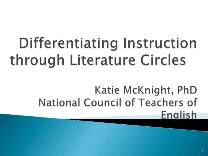 Literature circles and dif instructbeta