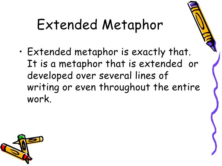 Extended Metaphor Example In Literature Choice Image Example Cover