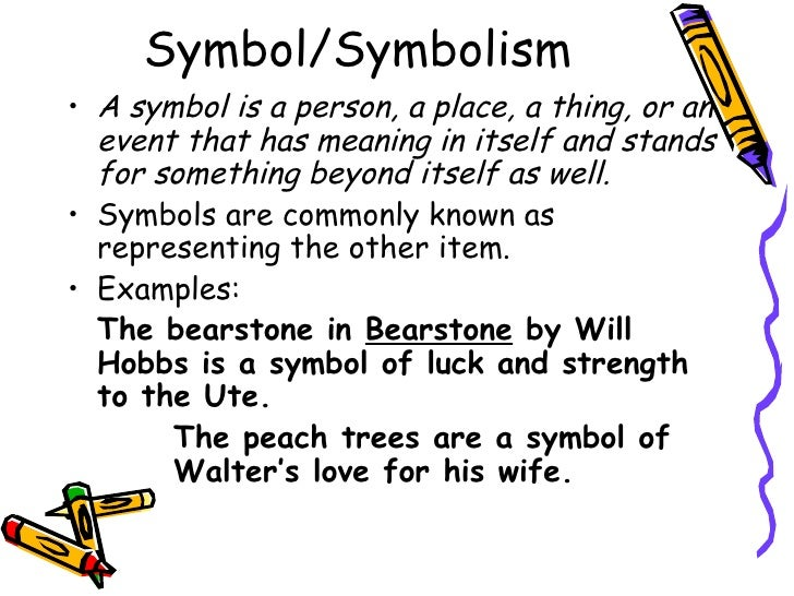 literature ii elements of literature symbol symbolism
