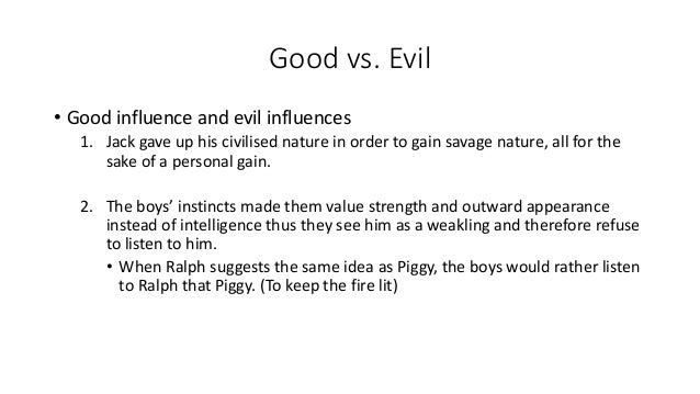 essays about good vs evil If you've been tasked with writing a paper on the good and evil for your philosophy class, feel free to use the following sample paper to your advantage.