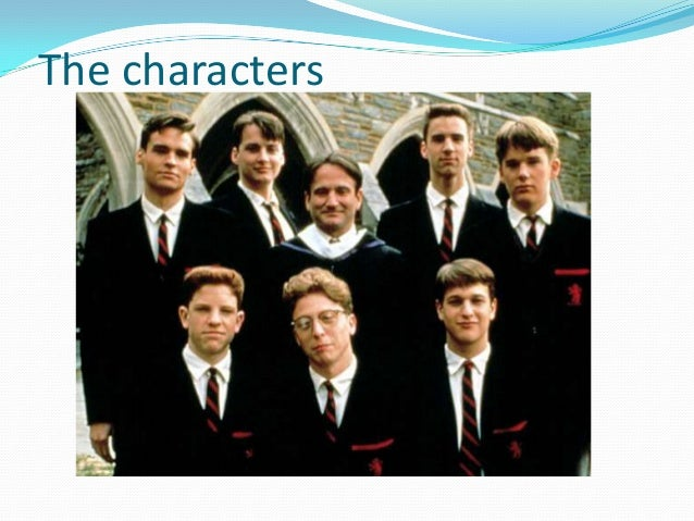 dead poets society character analysis