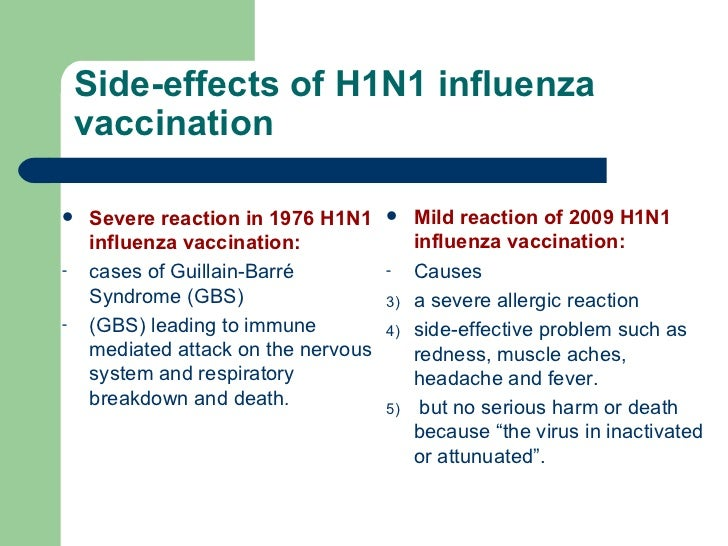 literature reveiw swine flu vaccine 1