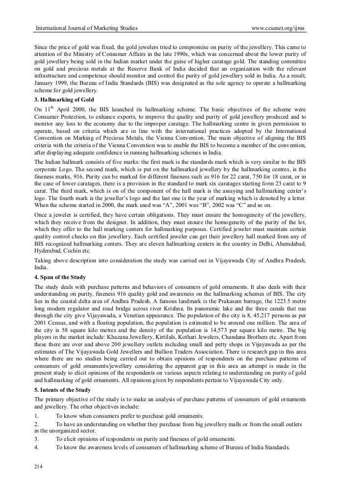 literature review of tanishq jewellery