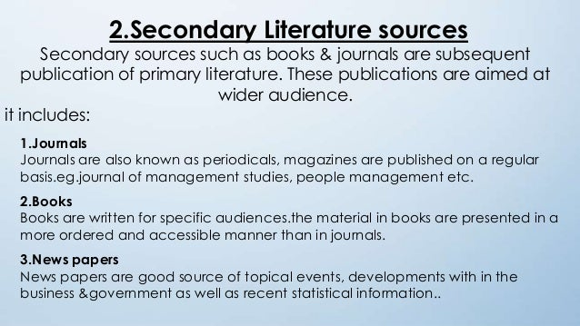 number of sources in a literature review