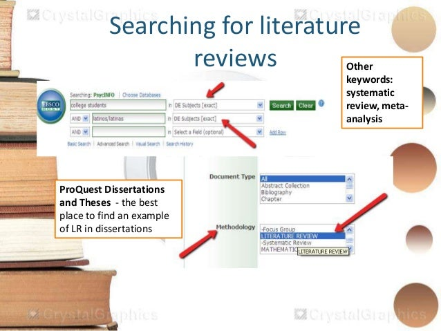 Literature review template nz