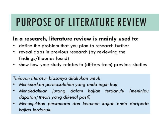 examples of how to write a literature review