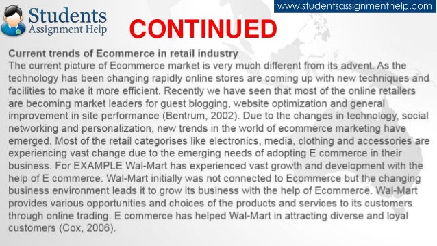 an analysis of the world of electronic commerce In a fully developed world of electronic commerce, where services dominate   extending the analysis, the elimination of middle-men could therefore force the .