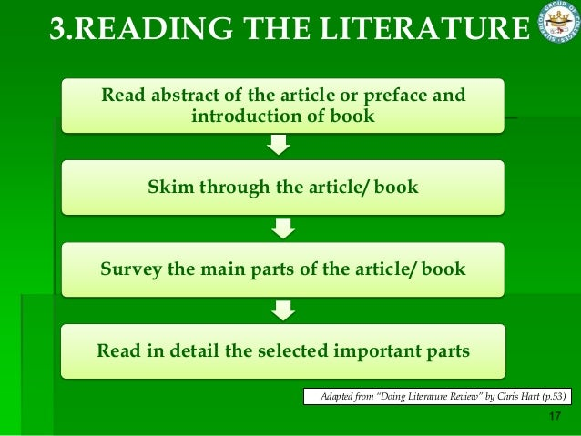 main parts of book report