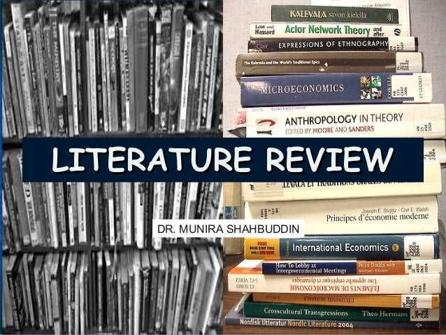 literature review research methodology A guide with information on how to write a literature review  modern research methodology:  many of these will contain published examples of literature reviews.