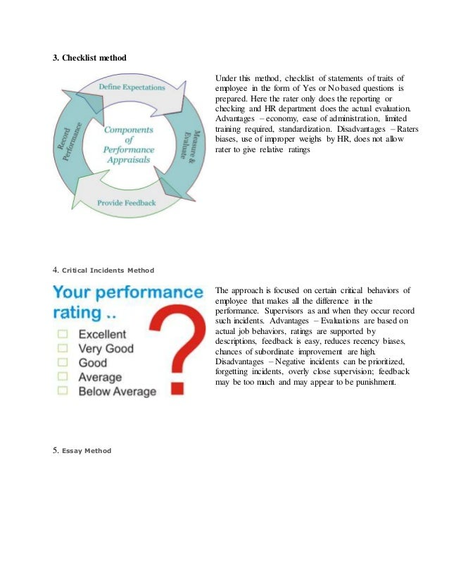 literature review on performance appraisal of employees Performance management system on employee  evaluation, pay-for-performance influence employee  there will be an extensive literature review about employee.