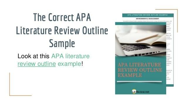 Literature Review Samples 2019