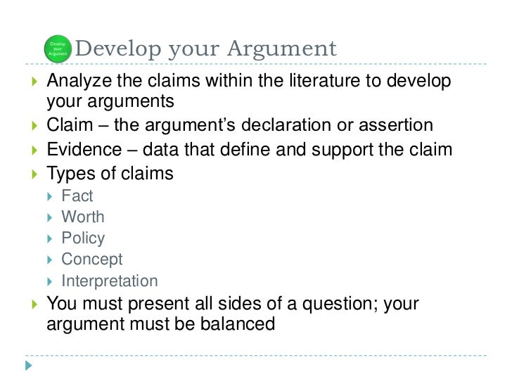 The literature review process for What does mean lit