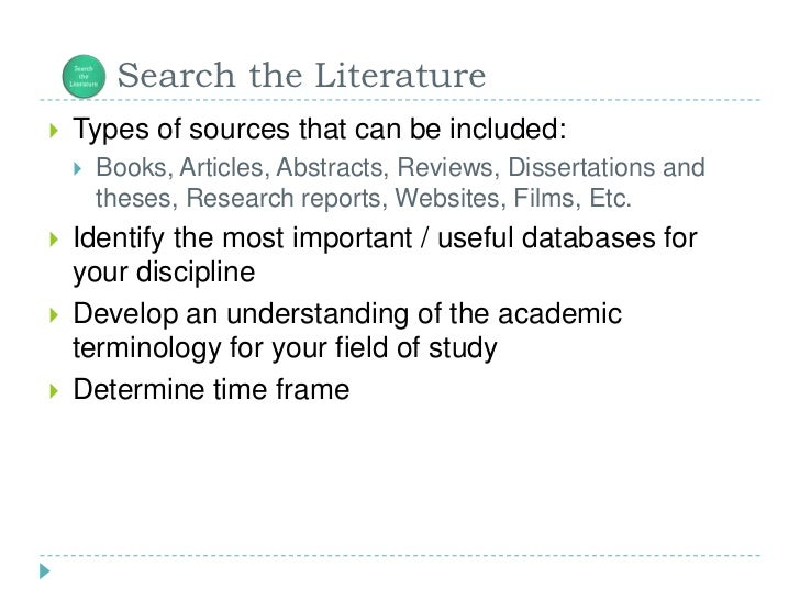types of literature review in research methodology This type of review represents a distinct literature synthesis method, although to date, its methodology remains relatively undeveloped despite several aspects that demand unique review procedures the purpose of this paper is to initiate discussion about what a rigorous systematic approach to reviews of.