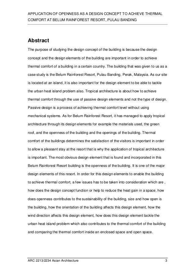 case study abstract example