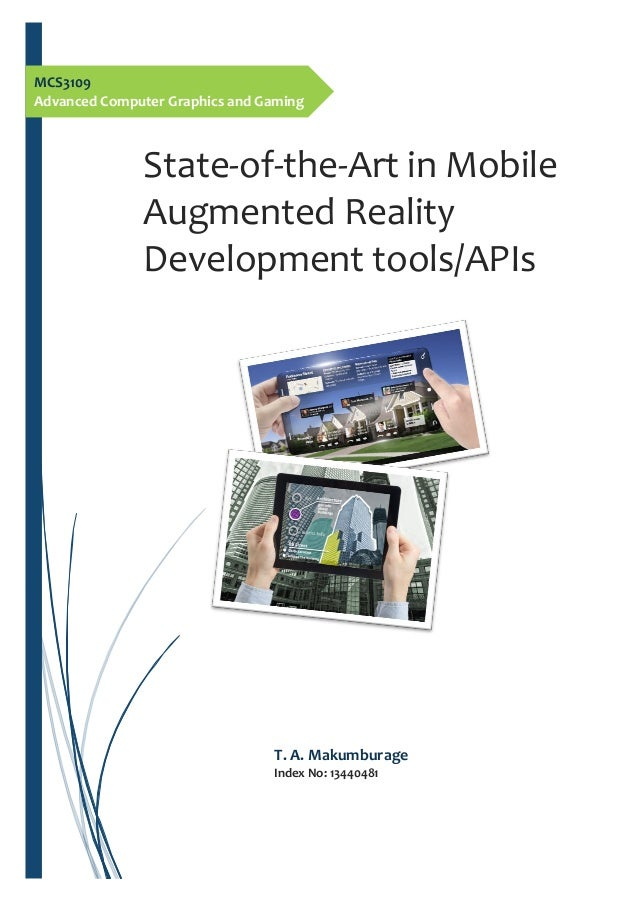 Tools for Developing Augmented Reality Applications | The ...