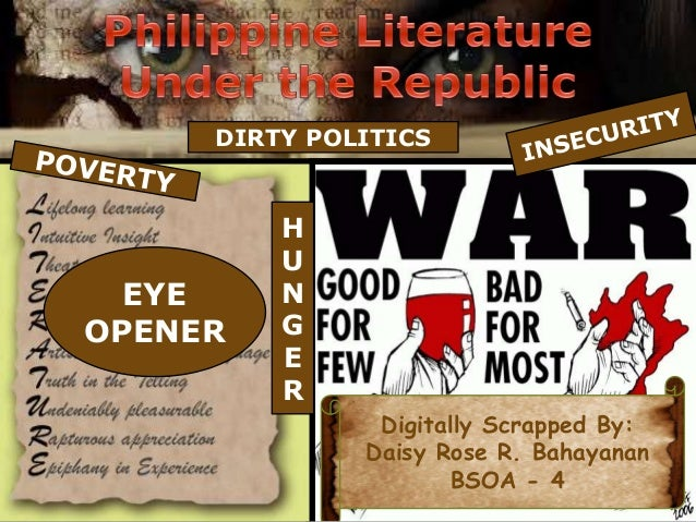 300-Level Philippine Literature in English