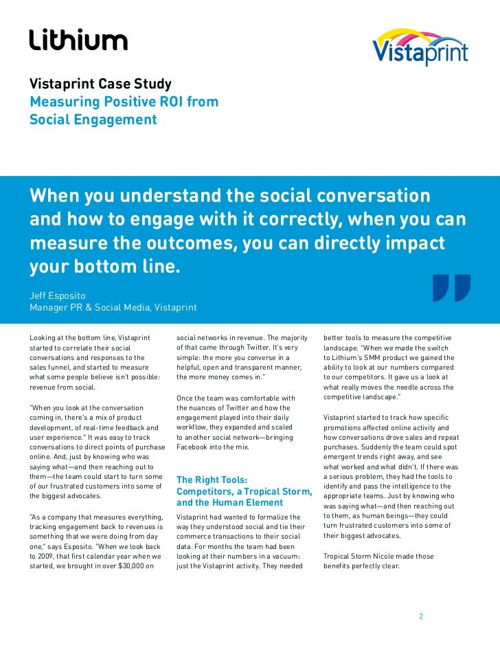 social media marketing roi case studies Many companies often find it frustrating to measure their social media marketing roi because of the ambiguity it brings, changes in algorithms, and the implementation of new tools however, there are many ways to measure social media marketing roi that are simple i'll break these ways down simply into.