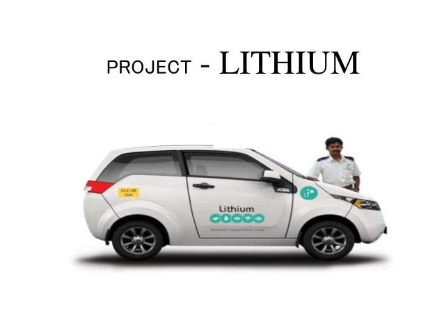 PROJECT - LITHIUM
