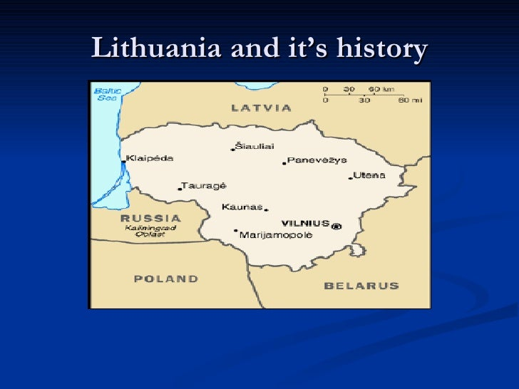 Lithuania and it's history