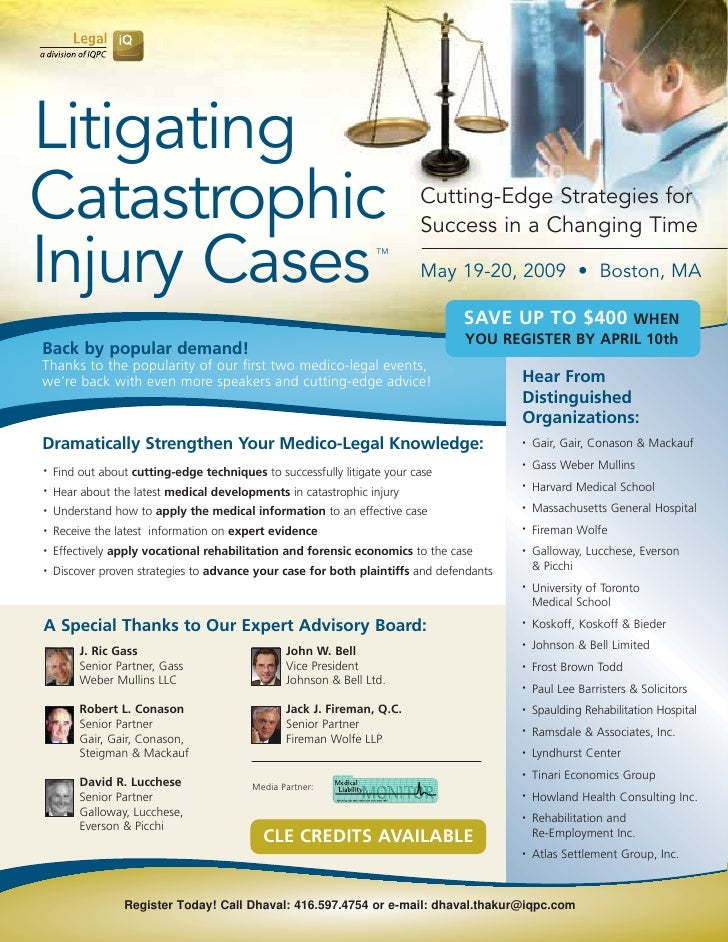 Litigating Catastrophic                                                              Cutting-Edge Strategies for          ...